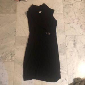 Calvin Klein Black Sweater Dress
